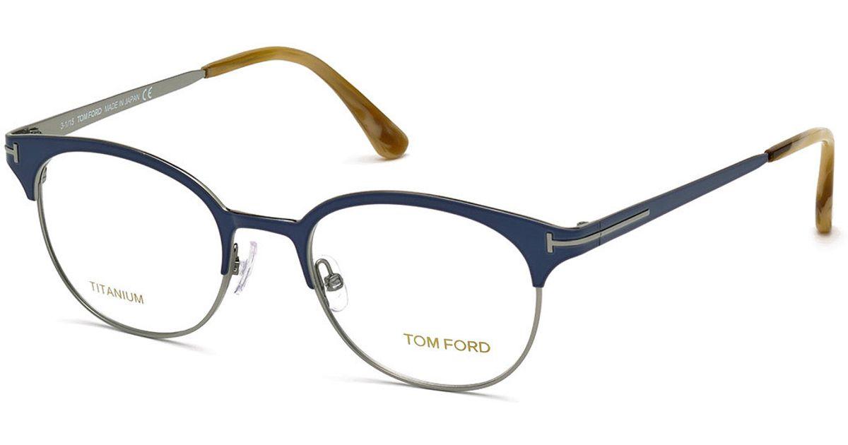 344e74bdb77 Tom Ford Round Eyeglass Frames