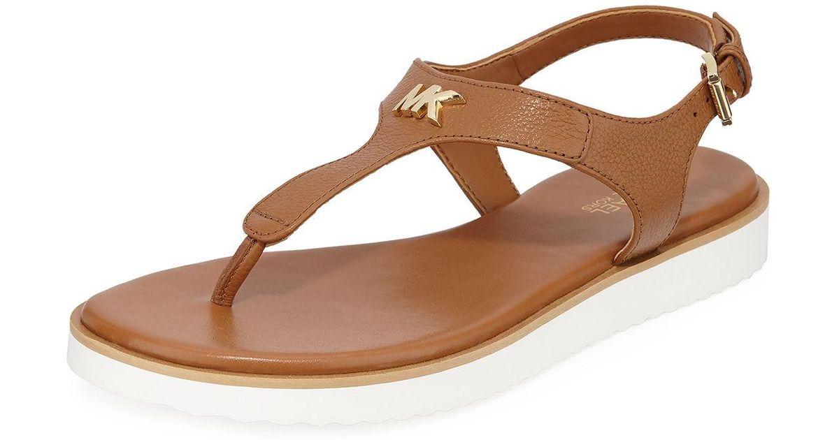 MICHAEL Michael Kors Brady Flat Leather