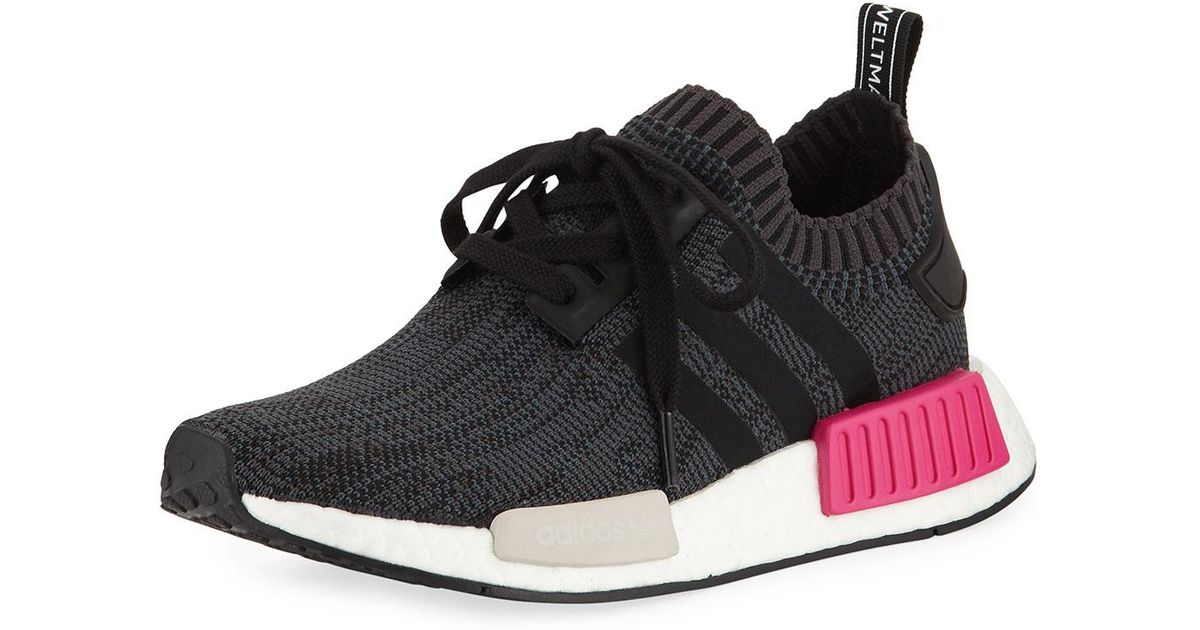 Black Adidas NMD Stretch Sneakers |