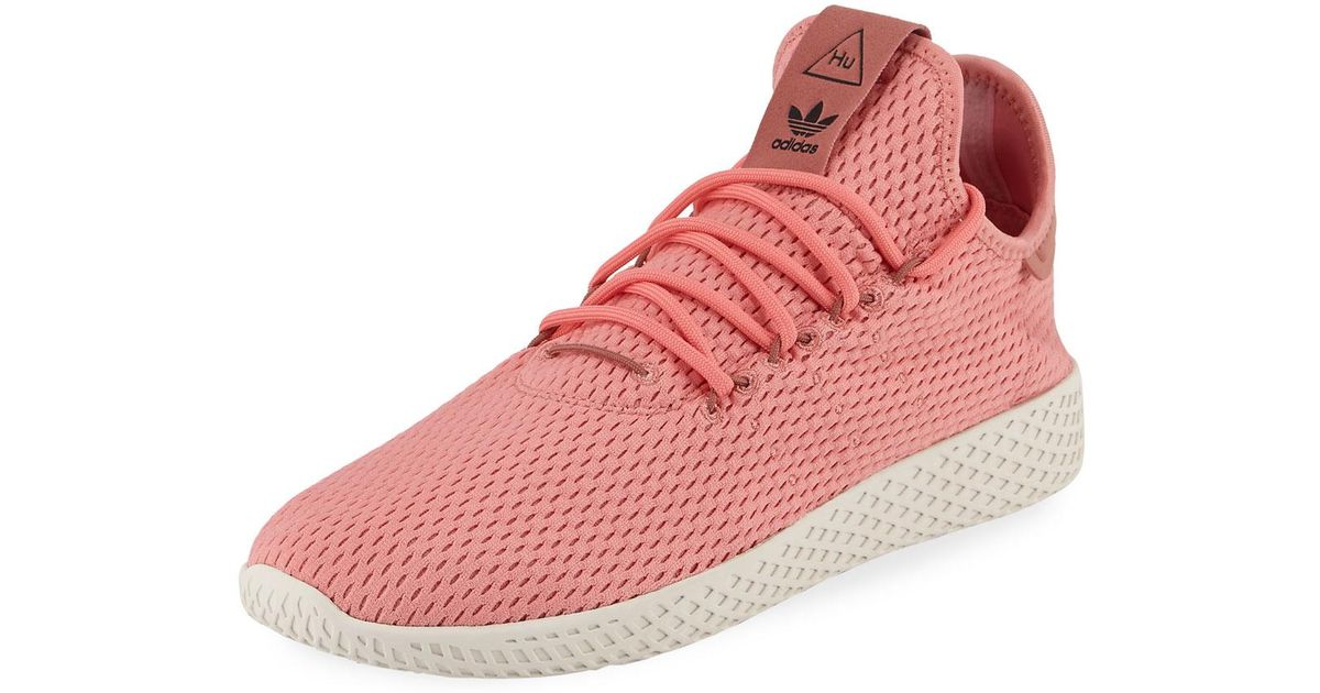 9a5b5b6f7701c Lyst - adidas X Pharrell Williams Men s Hu Race Tennis Sneakers in Pink for  Men