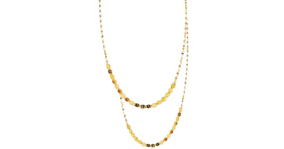 Lana Jewelry Nude Remix 14k Yellow Gold Layering Necklace
