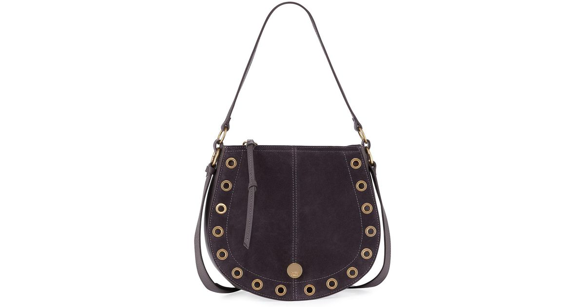 7d1475b4 See By Chloé Black Kriss Small Grommet Hobo Bag