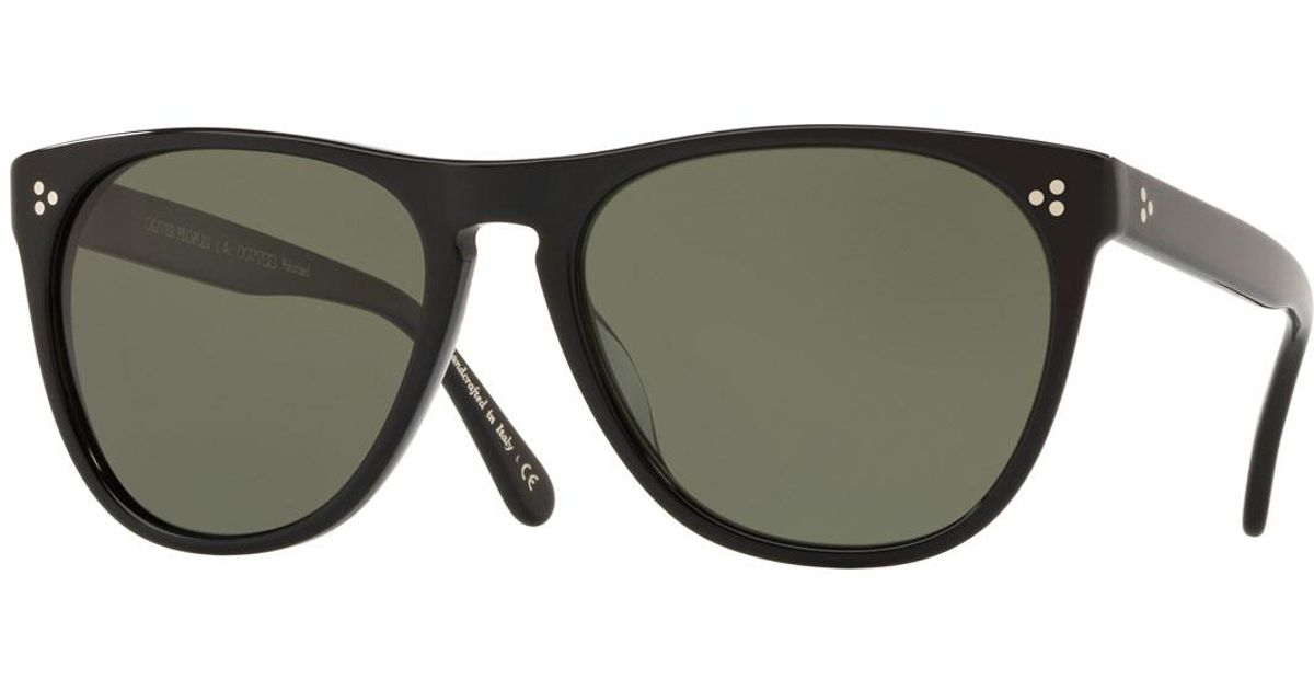 4475bd7f23 Lyst - Oliver Peoples Daddy 58mm Square Sunglasses in Black for Men