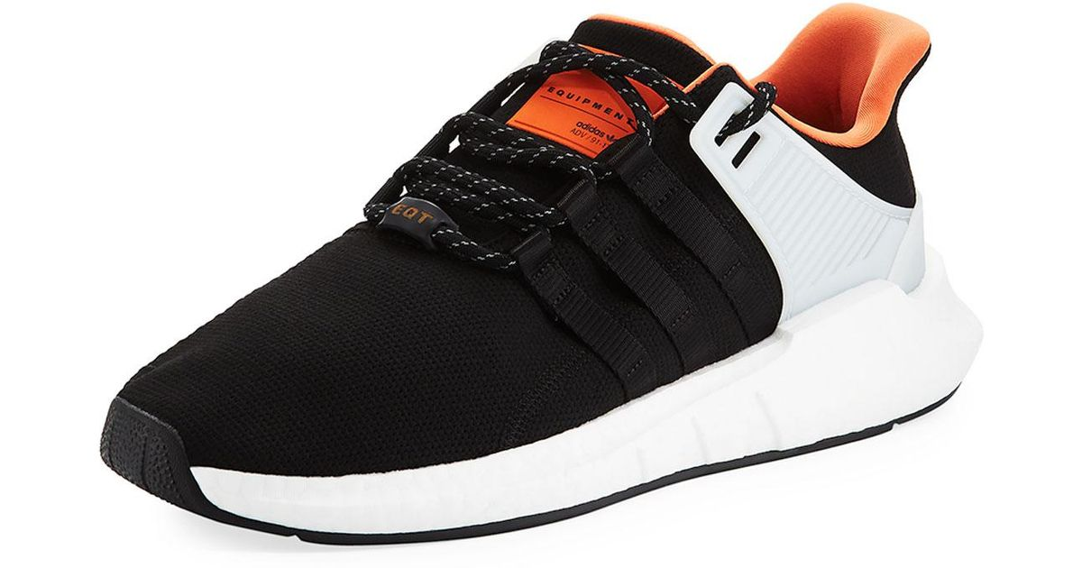 a39cb7725cd0 Lyst - adidas Men s Eqt Support Adv 93-17 Sneakers Black in Black for Men