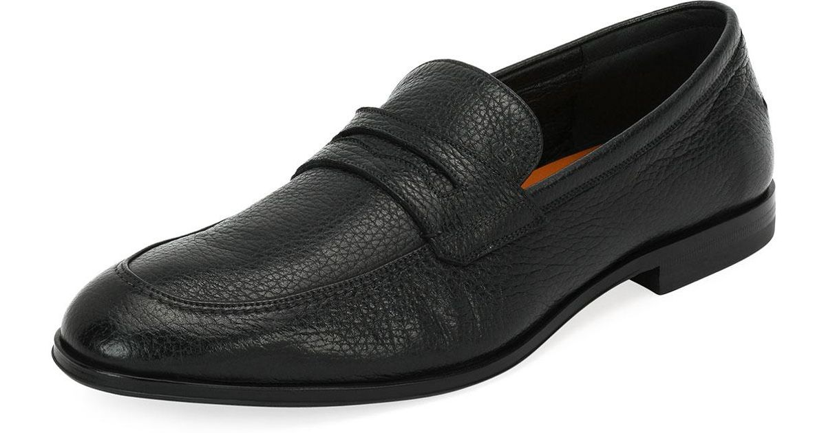 c41b12a469a Lyst - Bally Webb Leather Penny Loafer in Black for Men
