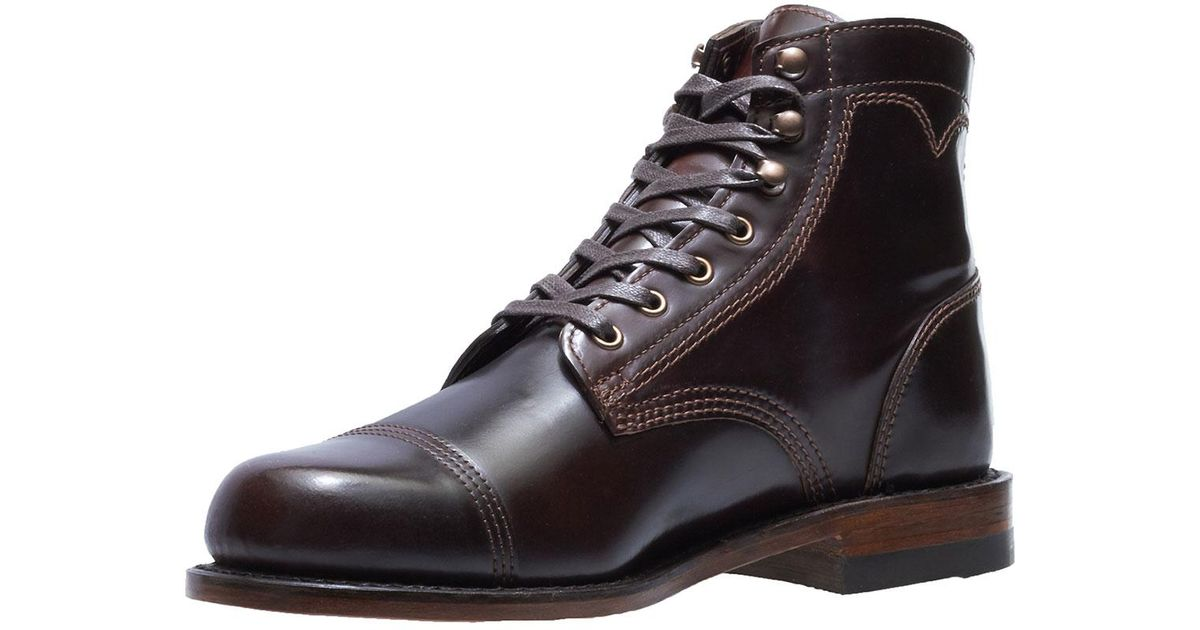 86a2e08ce6f Wolverine Brown Men's Shell Leather Boots for men
