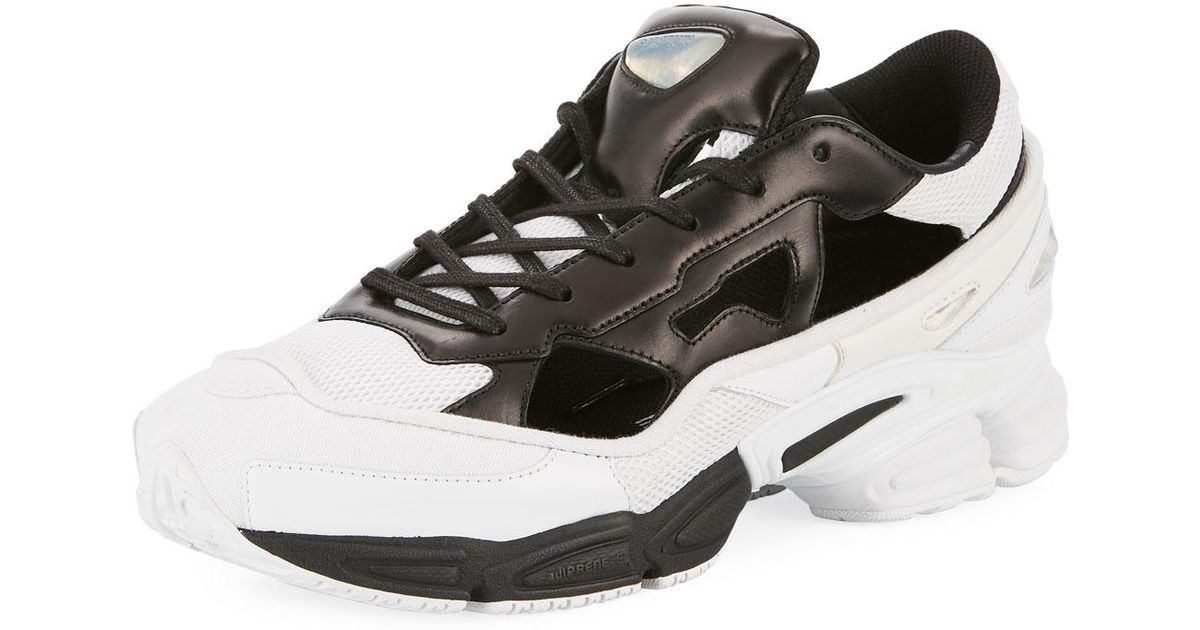 7e64b1574bc01e Lyst - adidas By Raf Simons Men s Replicant Ozweego Trainer Sneakers in  Black for Men
