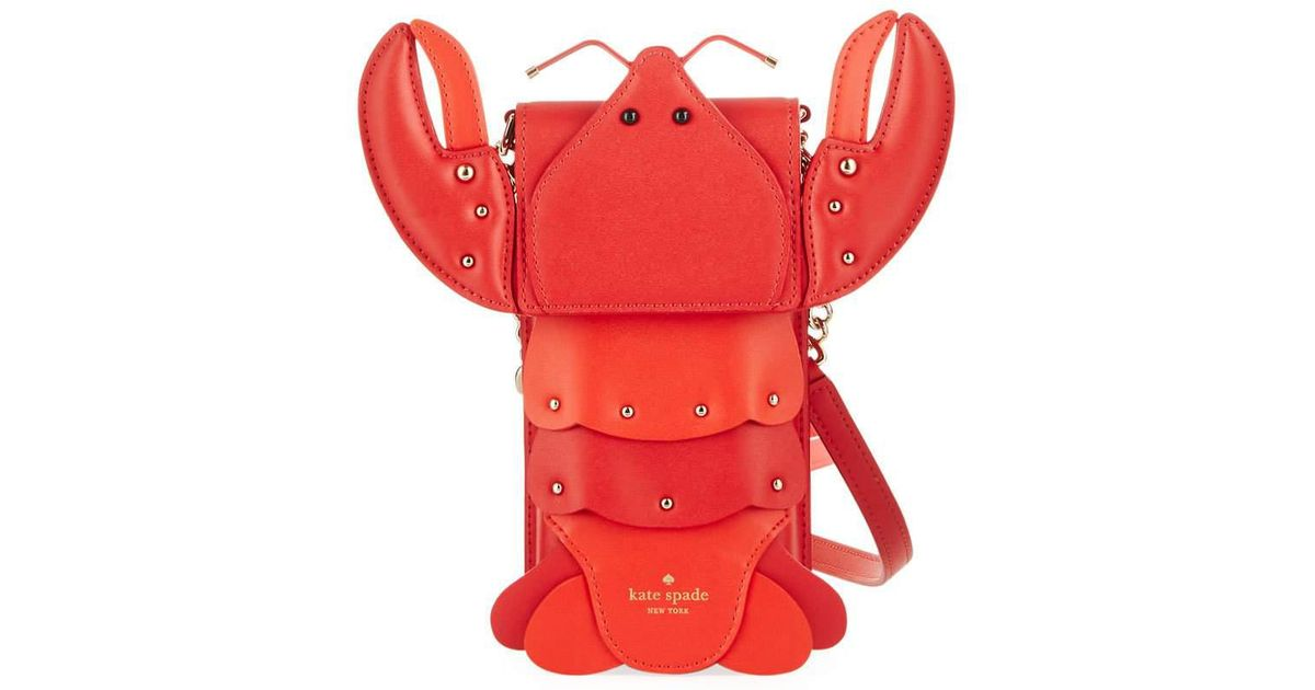 Lobster North South Phone Crossbody Bag