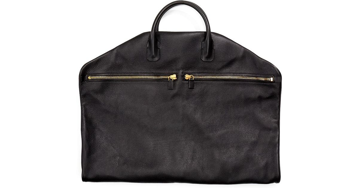 Tom Ford Buckley Soft Leather Garment