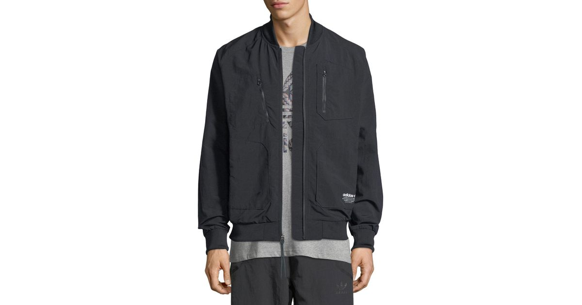 c2f31873c187b Lyst - adidas Originals Nmd Urban Track Jacket in Black for Men