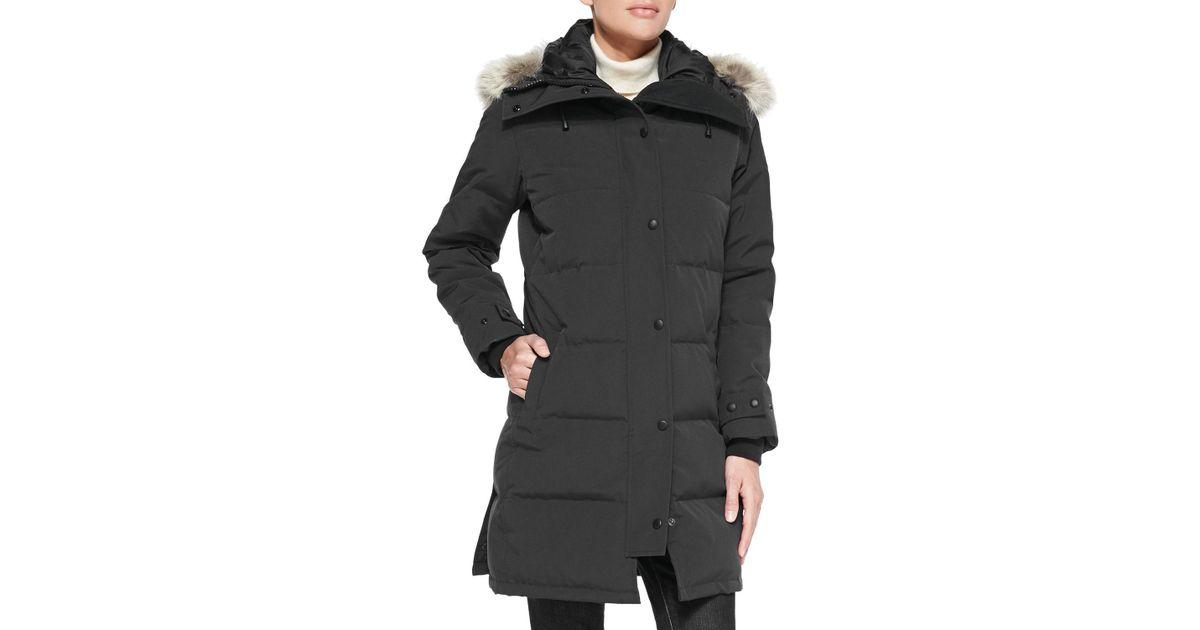 canada goose jacket removable fur