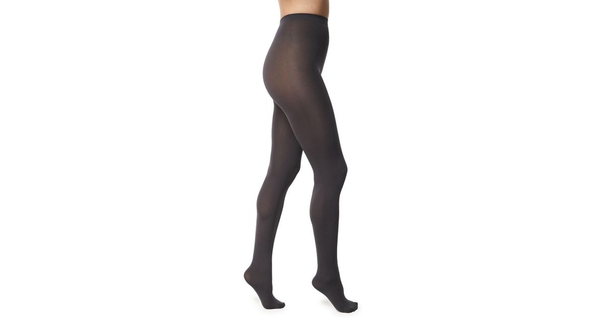 2d661ab0b1f Lyst - Wolford Matte Opaque 80 Tights in Gray