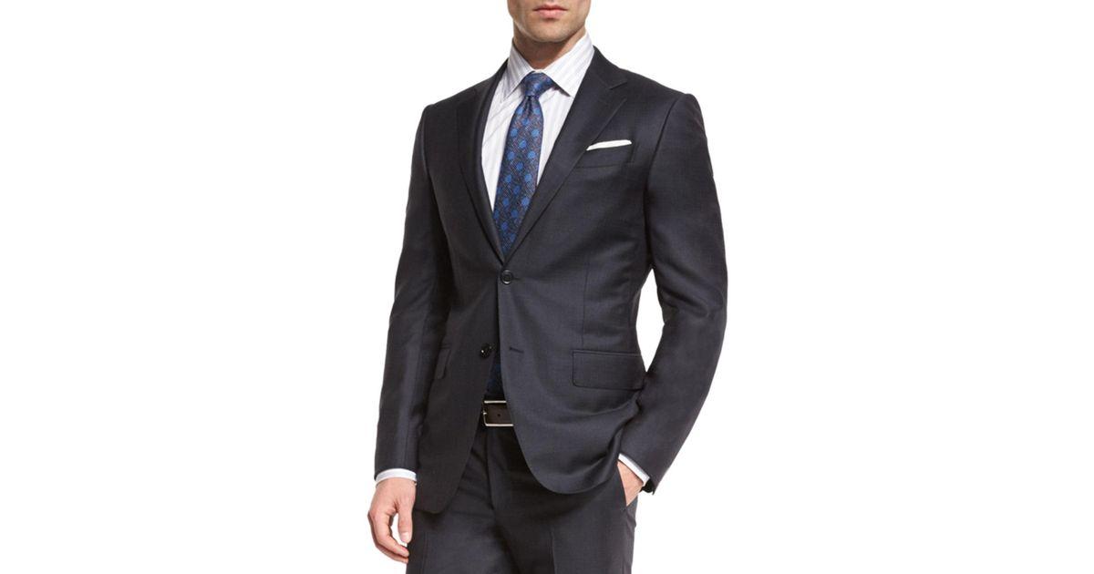 Lyst - Ermenegildo Zegna Graffiato Trofeo Wool Two-piece Suit for Men ac8ed2190870