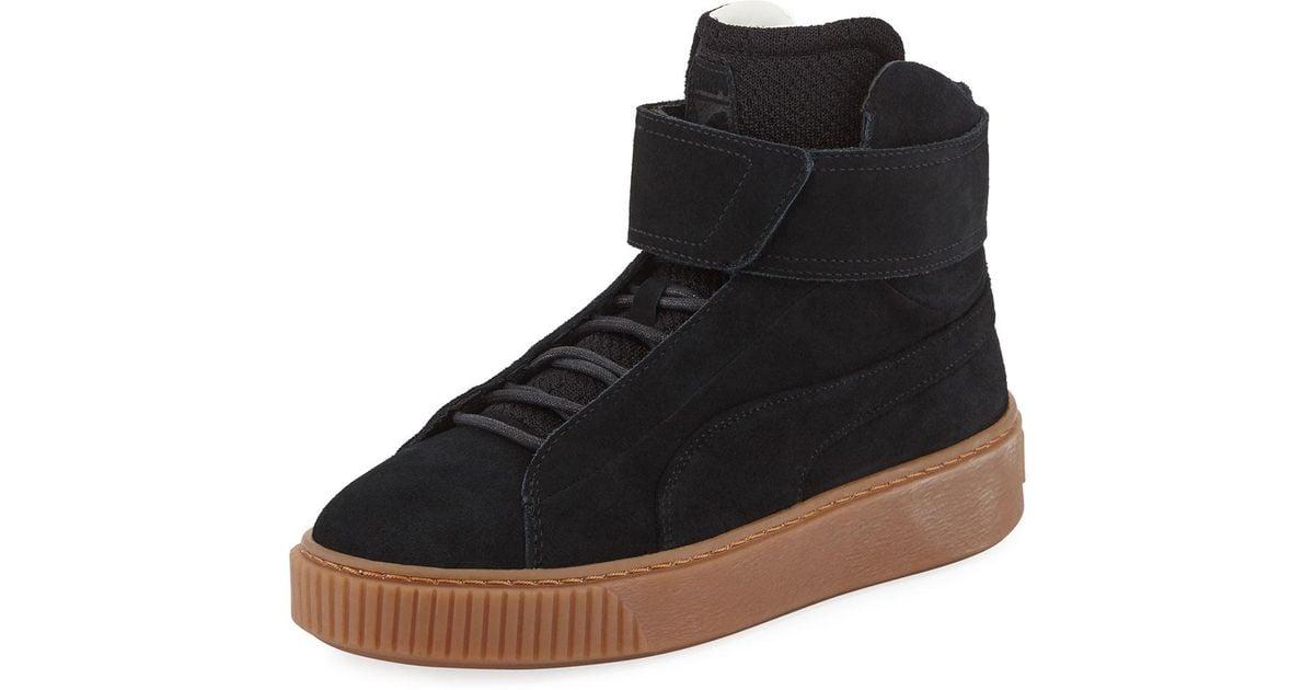 PUMA Suede Platform High-top Sneaker in