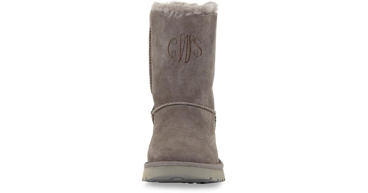 cab69e096096 Lyst - UGG Bailey Bow Ii Boots in Gray