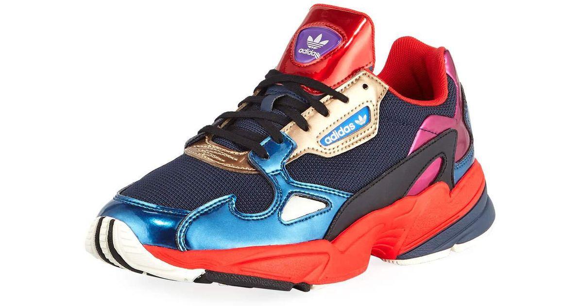 Colorblock Metallic Sneakers
