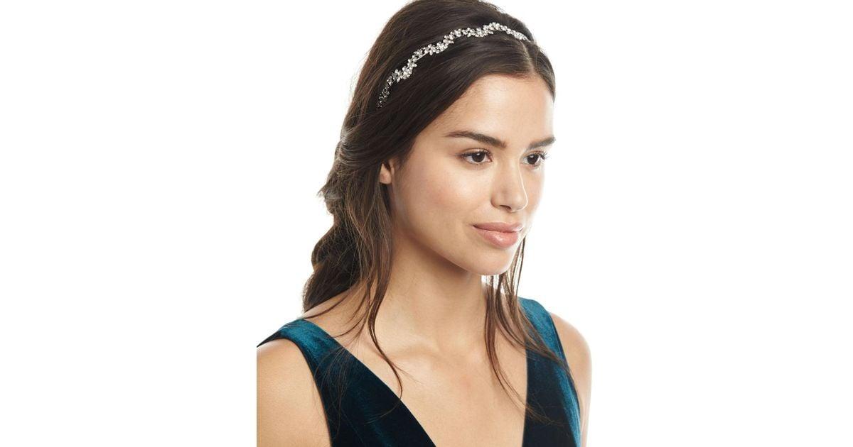 Jennifer Behr Petite Vine Crystal Headband PDIgNjGX