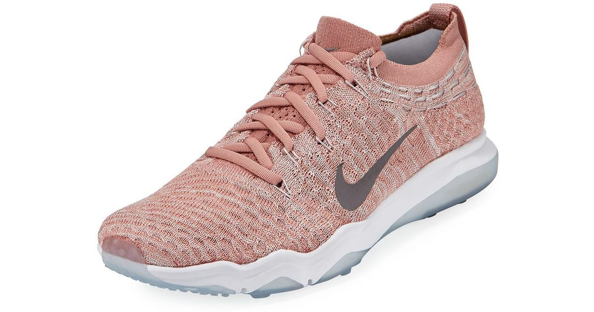 991713da25e Lyst - Nike Air Zoom Fearless Flyknit Lux Trainer Sneakers in Pink