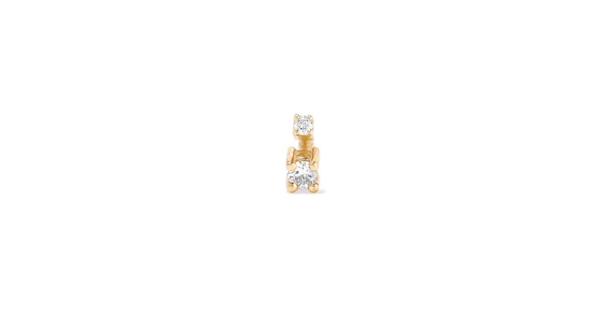 Sansoeurs Big Spark 18-karat Gold Diamond Earring PzMvYFuP