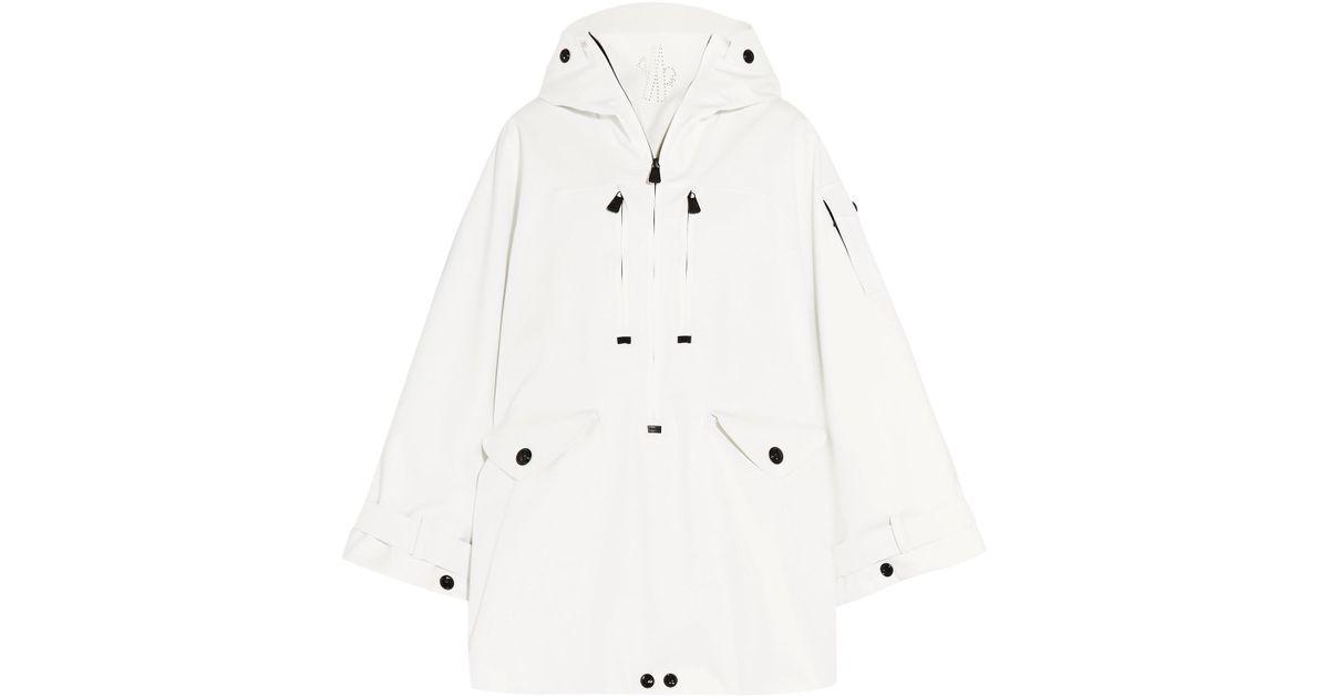 233590721 Moncler Grenoble White Badia Ski Jacket