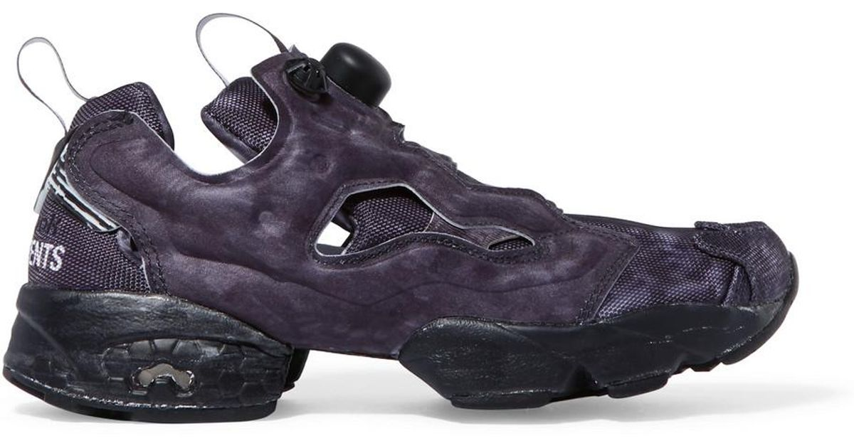 41d156c377b Lyst - Vetements Reebok Instapump Fury Og Neoprene And Mesh Sneakers in  Black