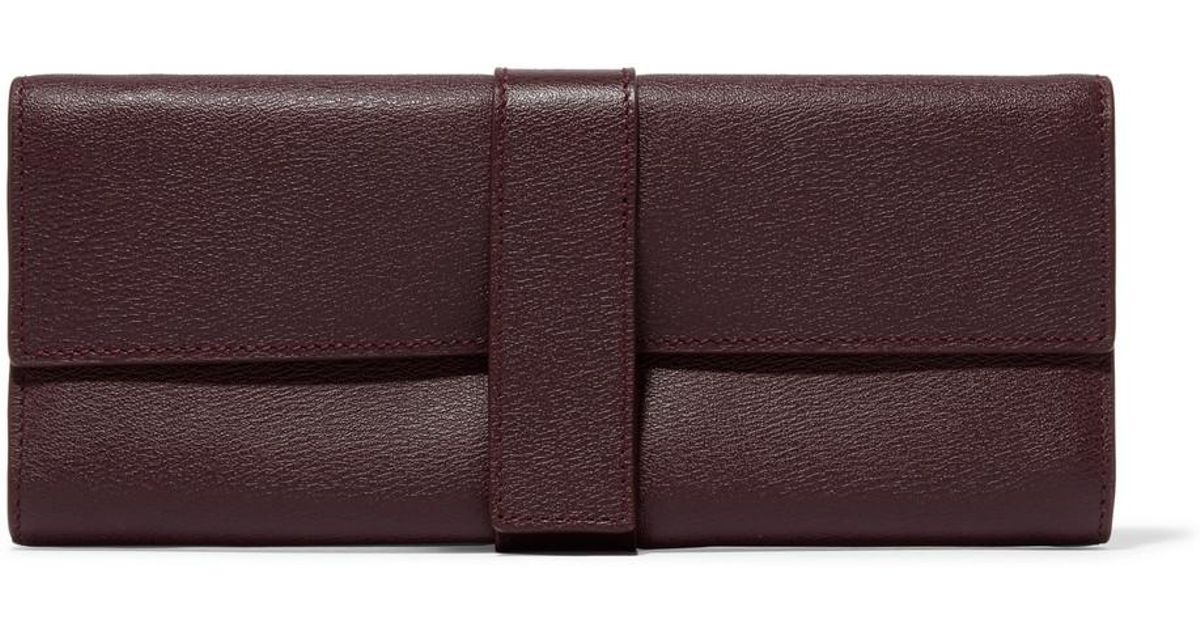 03dd1f622d00 Lyst - Smythson Grosvenor Textured-leather Jewelry Case