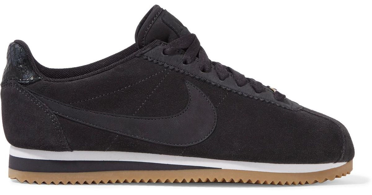 quality design 0aa79 0cecc Lyst - Nike A.l.c. Classic Cortez Suede Sneakers