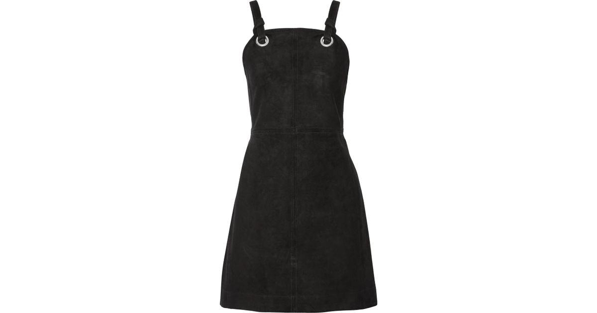 Croft Suede Mini Dress - Black Rag & Bone UmrTV