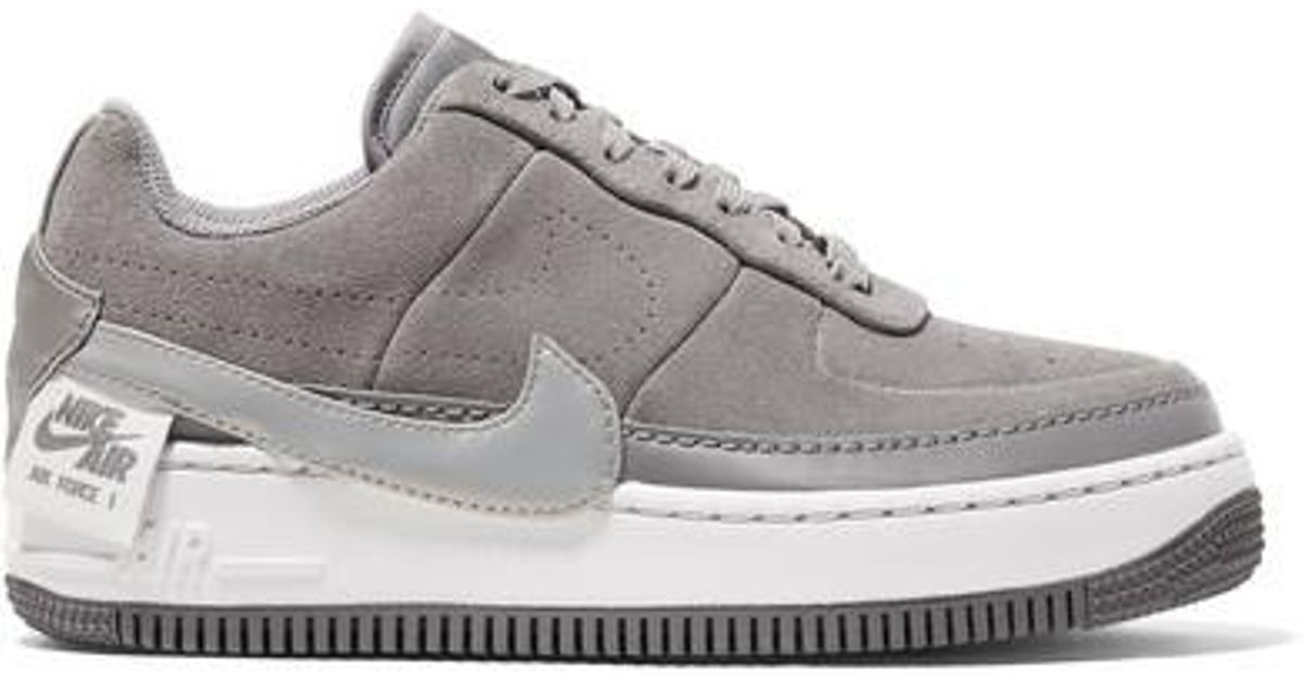 Nike Air Force 1 Jester Suede Sneakers