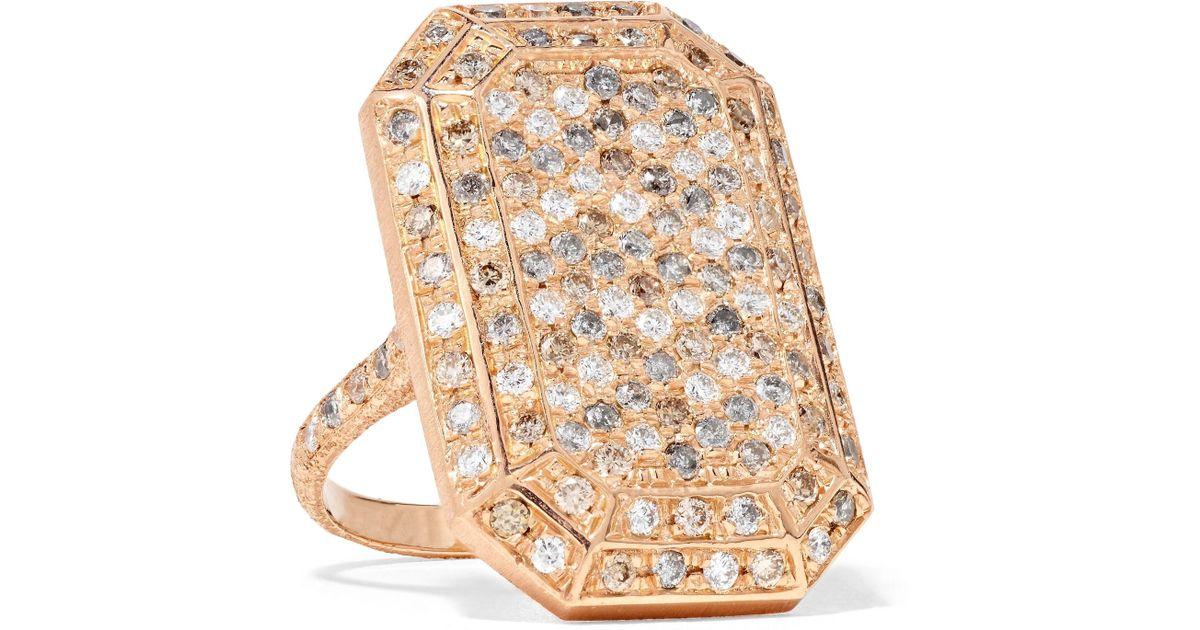 Carolina Bucci Florentine Heart 18-karat Rose Gold Ring jKmZUbxrYq