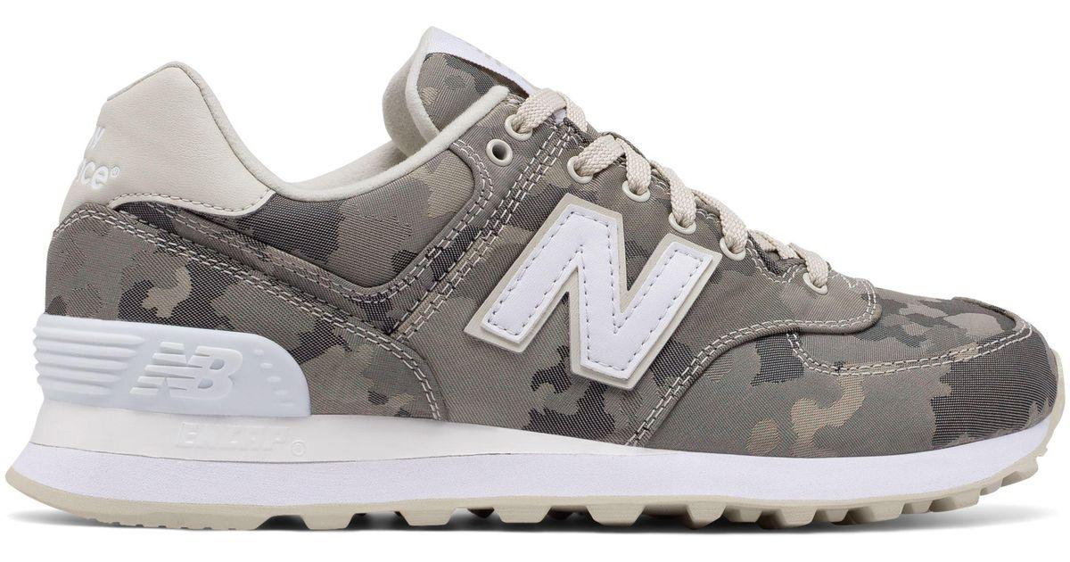 new balance 574 camouflage
