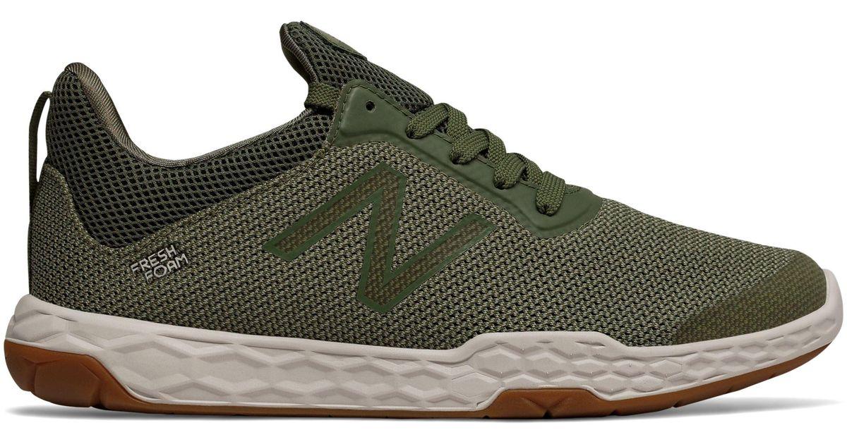 Balance Fresh Foam 818v3 Shoes in Green