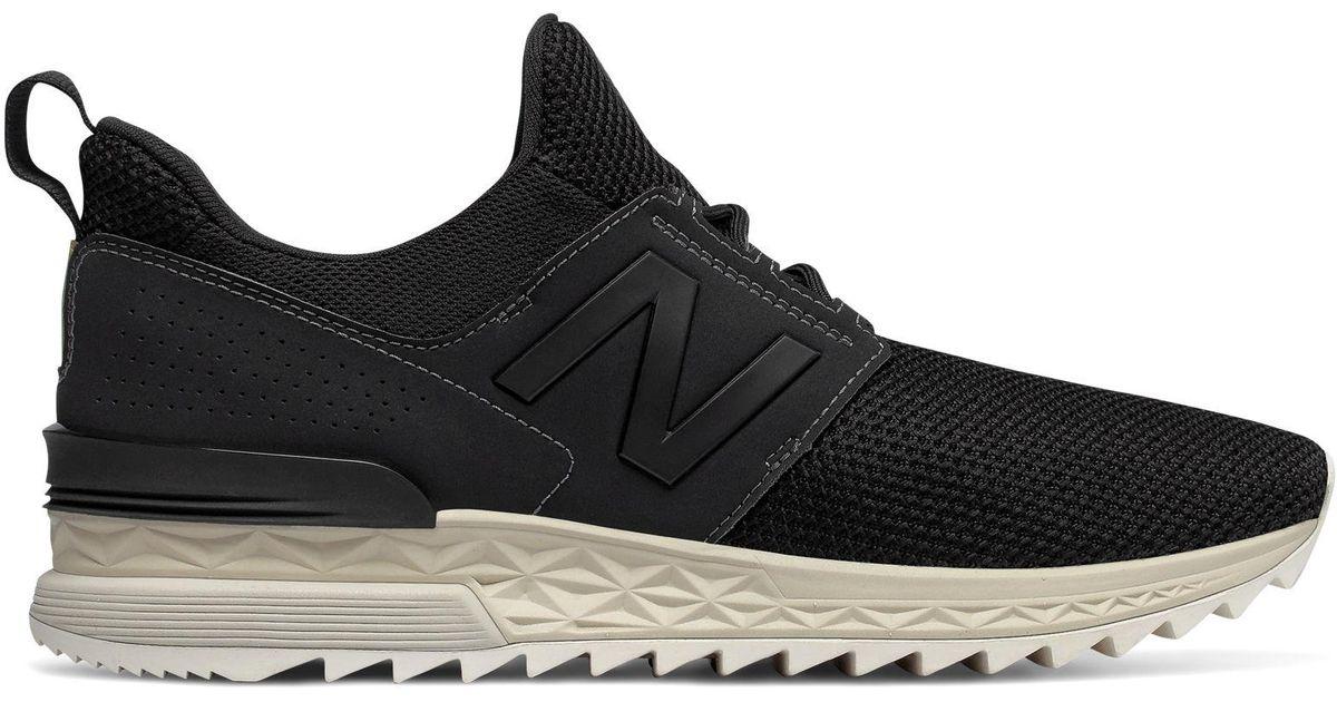 574 Sport New Balance de hombre de color Black