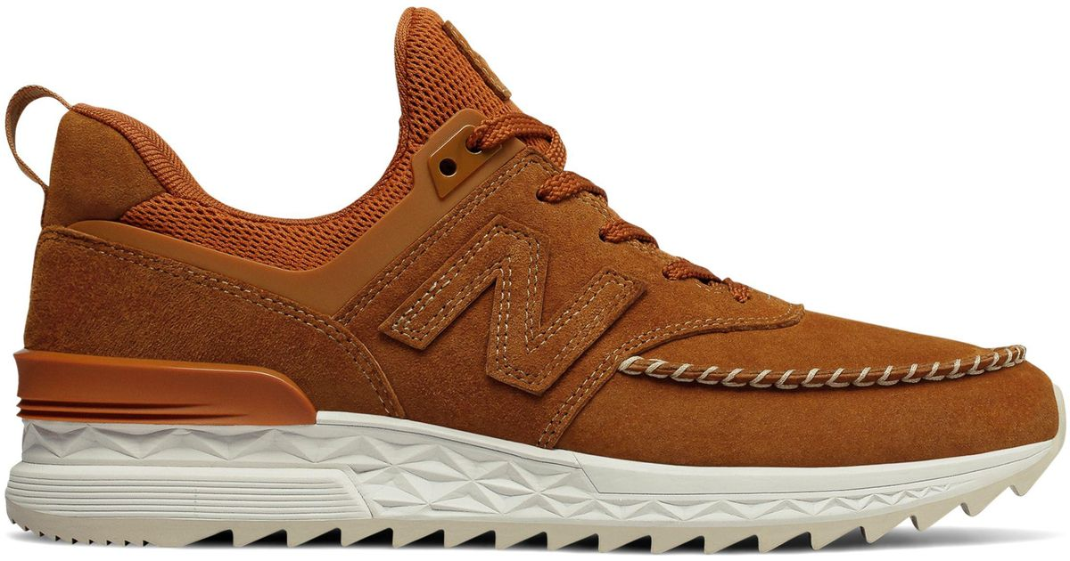 free shipping d0bd4 d1980 New Balance Brown 574 Sport for men