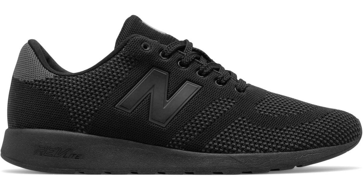 new balance 420 triple black