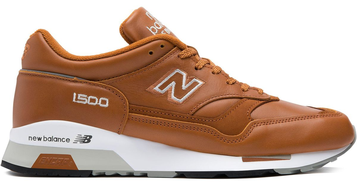 buy online ae025 9b6ed New Balance Brown 1500 Made In Uk Leather for men