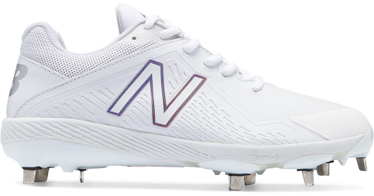 ab651c3a4f8 Lyst - New Balance Low-cut Fuse Metal Cleat in White