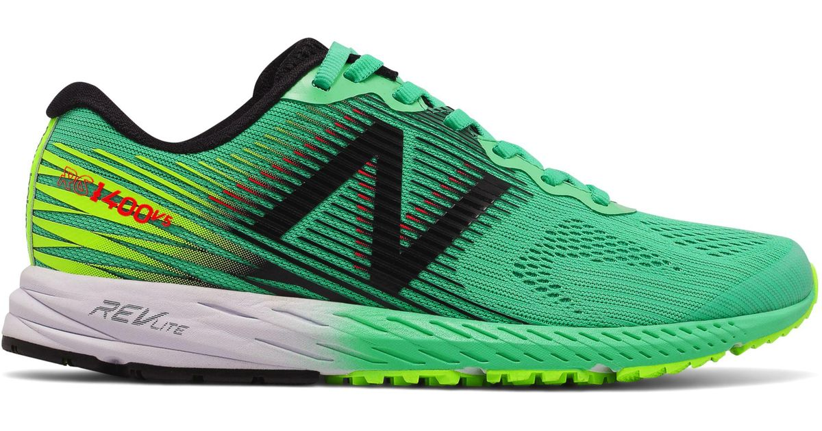 low priced 3f0a6 16e1c New Balance - Green 1400v5 - Lyst