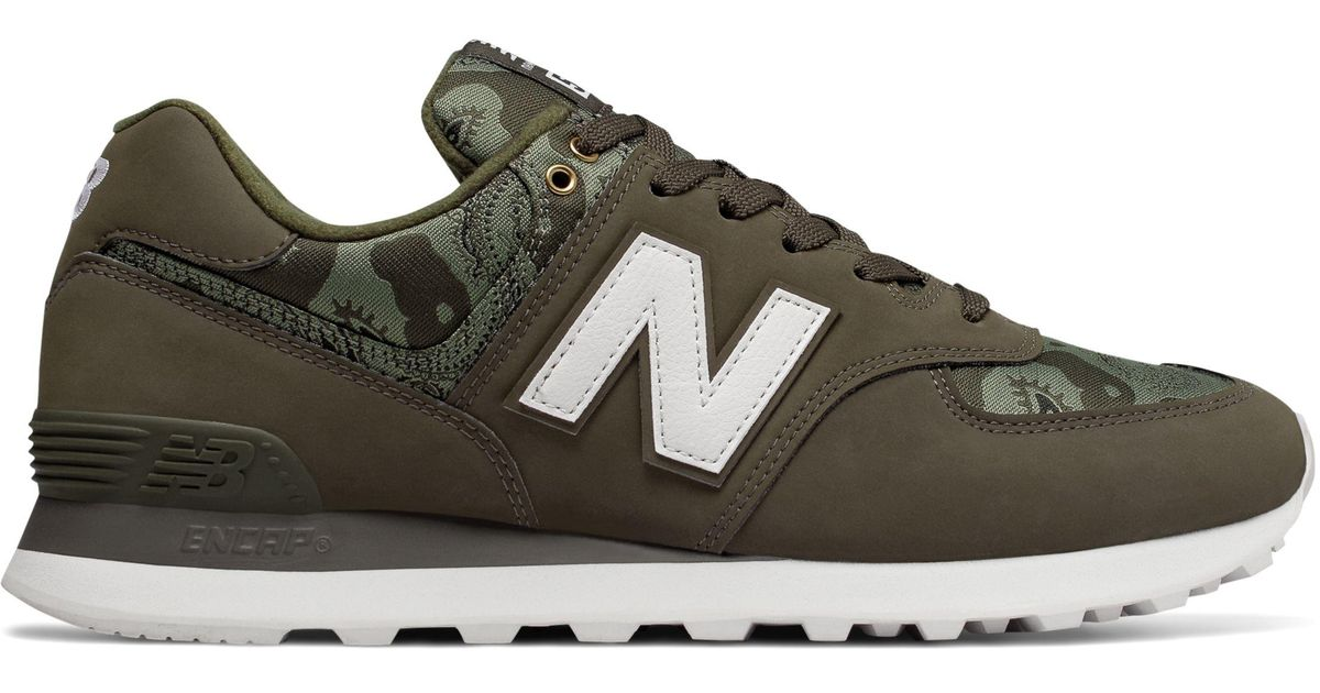 New Balance Rubber 574 Paisley Camouflage for Men - Lyst