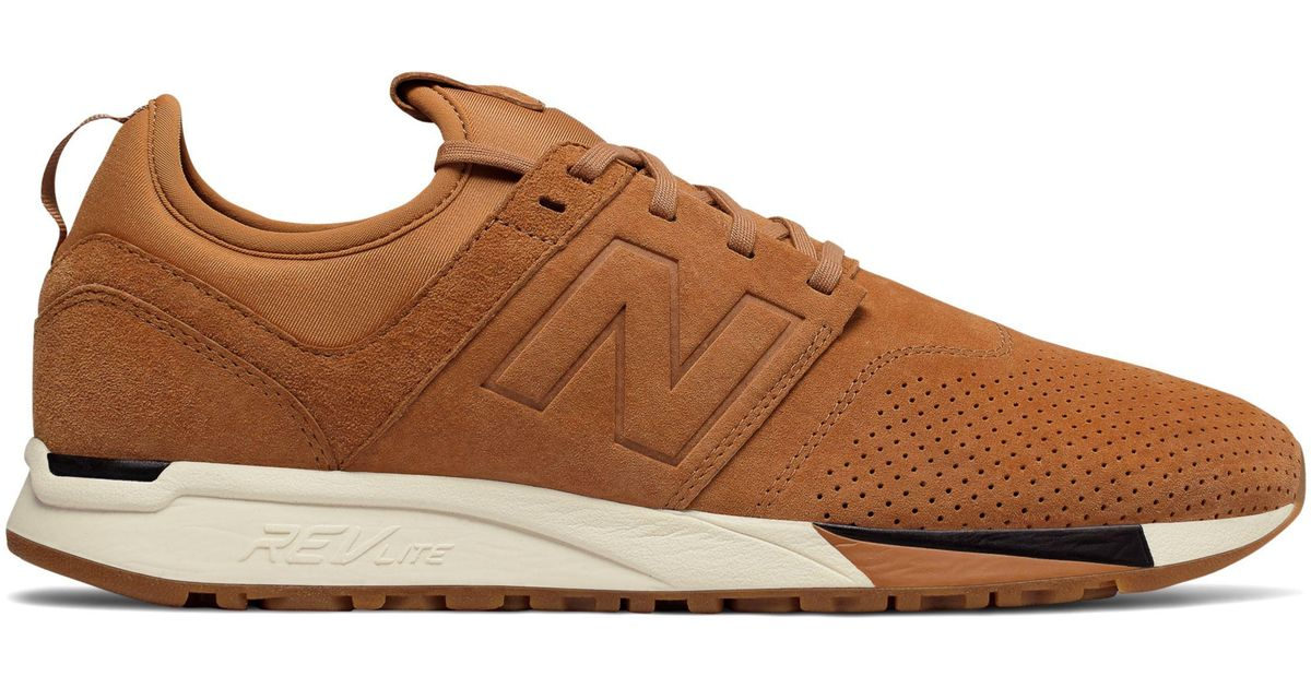 save off 472ab 2d599 New Balance Brown 247 Luxe for men