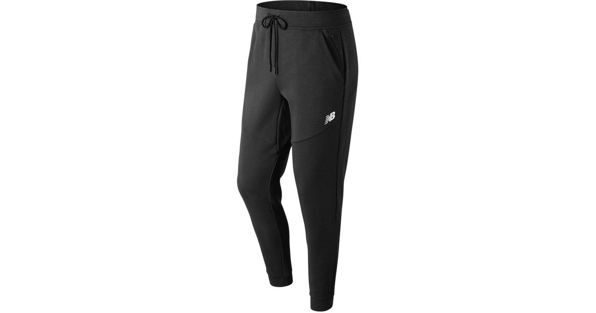 32f46006f8cb7 New Balance Sport Style Grid Sweatpant in Black for Men - Lyst