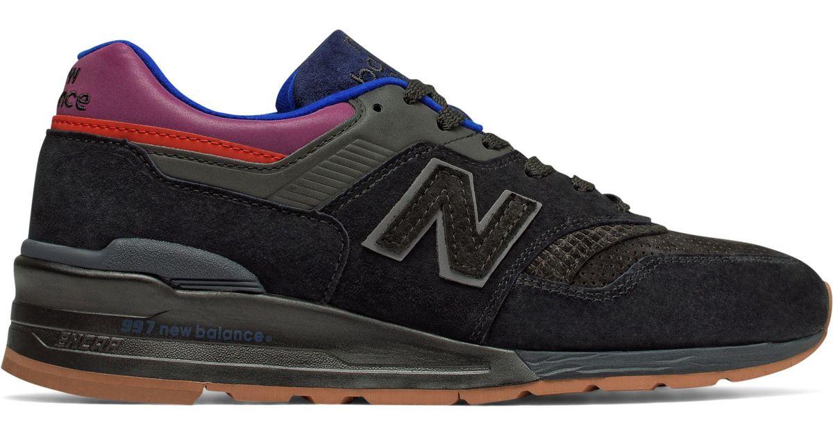 best sneakers 9790e 2ee11 New Balance Black 997 Desert Heat for men