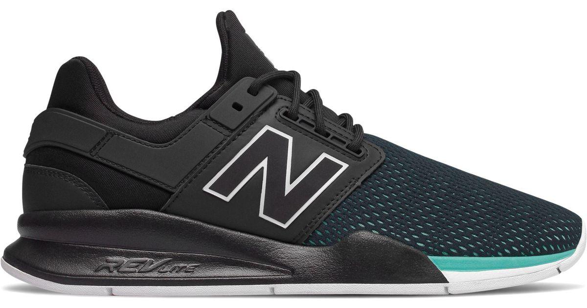 New Balance 247 Tritium in Black for