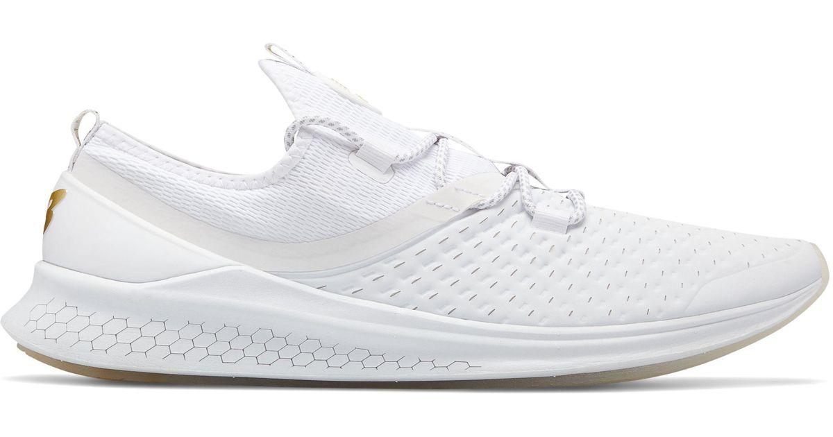 calcetines hélice Raza humana  New Balance Rubber Fresh Foam Lazr Elite in White - Lyst