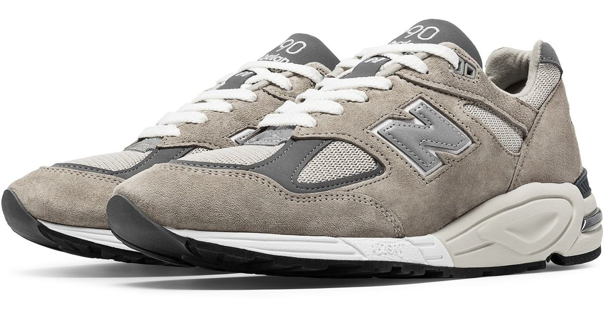 separation shoes 89ed5 64fbb New Balance Gray 990v2 Made In The Usa Bringback for men
