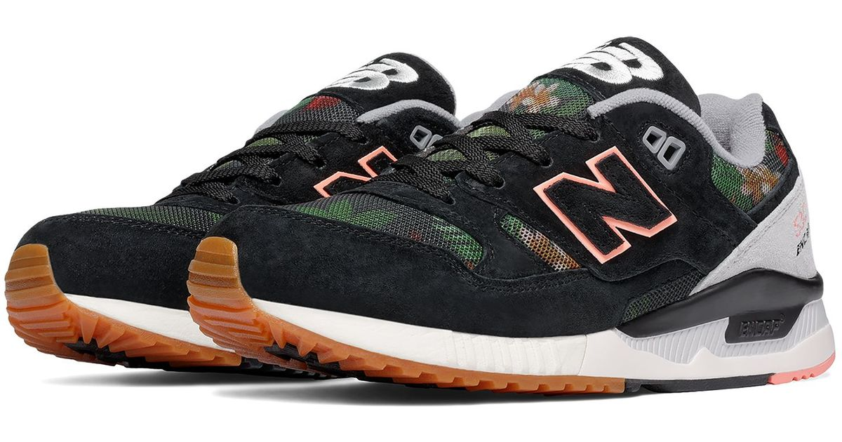 New Balance Rubber 530 Floral Ink in