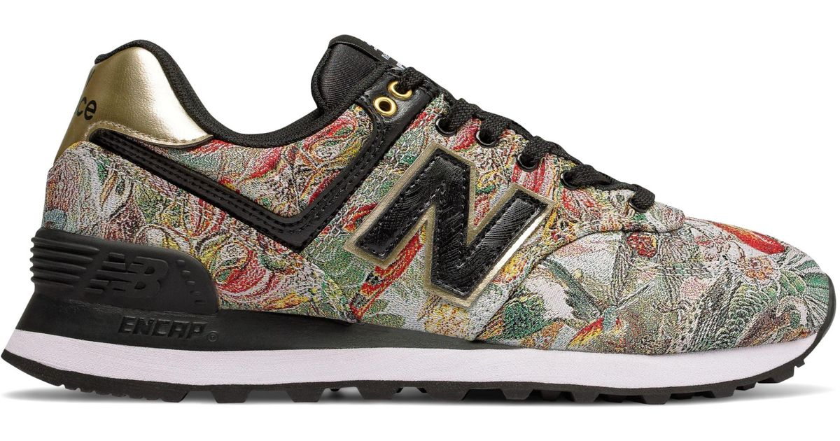 New Balance Suede 574 Sweet Nectar in