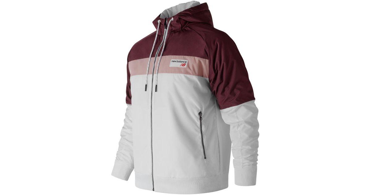 4bf1c737f1ebc New Balance Nb Athletics 78 Winter Jacket in White for Men - Lyst