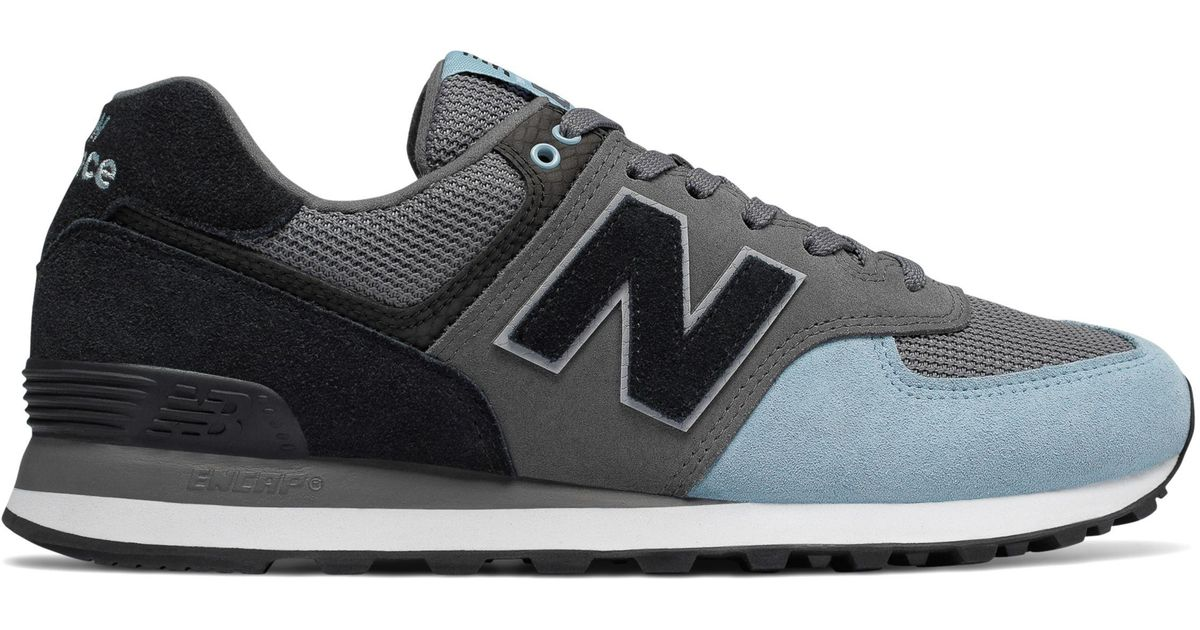 premium selection 54b0f 117d6 New Balance Black 574 Serpent Luxe for men