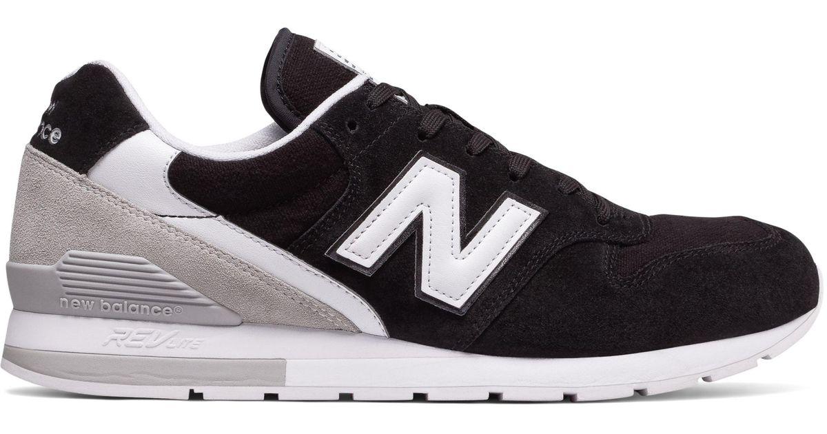 new balance 996 grey black